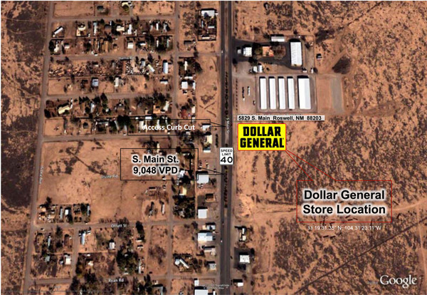 Dollar General Store - Roswell, NM